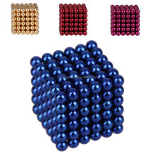 216pcs 3mm Neodymium Magnetic Balls Spheres Magic Cube Magnets Puzzle Funny Toy Christmas Present for Children