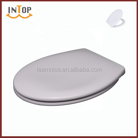 hygienic toilet seat cover with soft close toilet seat damper and hinge