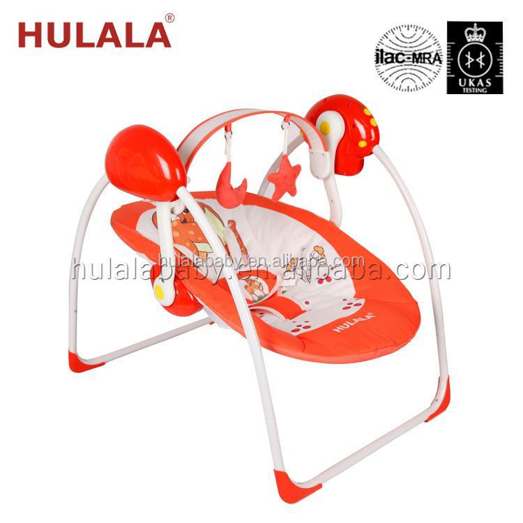 Cradle Wooden Foldable Baby Folding Swing Cot