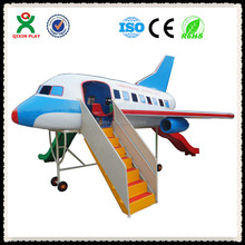 Superb Guangzhou Factory Playground equipment design/electric airplane play/used amusement park equipment/QX-124D