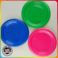 Cheap Customized Christmas Disposable Plastic Plates