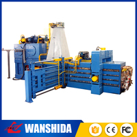Supplier horizontal automatic rice straw baler for waste recycling plant