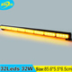 Wholesale 32W road safety traffic advisor display control slim led strobe light bar for car truck