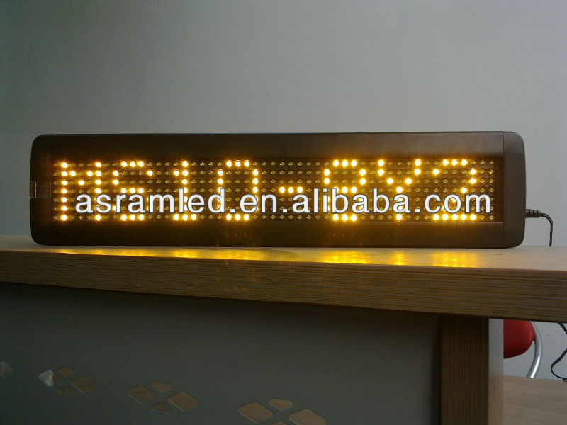 wireless RF outdoor program amber scrolling led bus/taxi car top advertising message sign board hot new products alibaba express