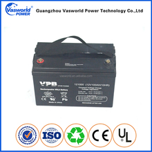 High qualified long life lead acid deep cycle agm gel 12v 100ah battery with good price