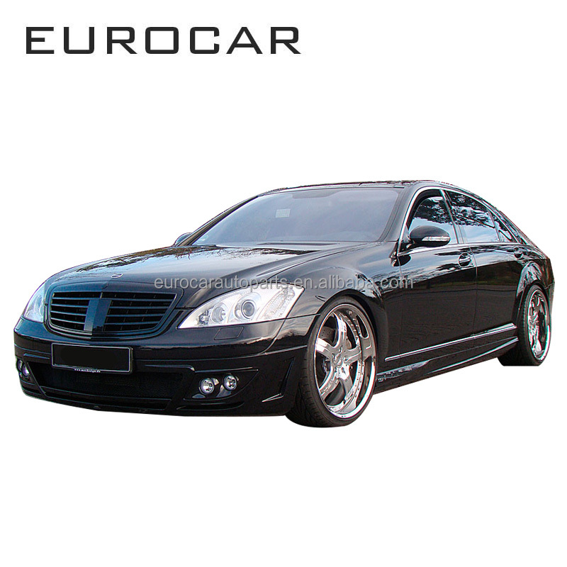 Front grille rear bumper front bumper MB S-class w221 body kit for MB S-class w221 s65 style MC 2009 year up