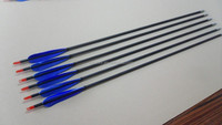 PA-0161 OEM blue pure turkey feather target archery carbon arrows