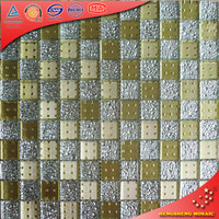 HM07 25*25mm Small Mirror Tiles Price Per Square Meter Mirror Glass Mosaic Tile