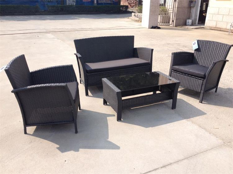 2016 rattan furniture with 5pcs stainless steel material UNT-R-559