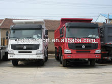 Sinotruck howo 336hp tipper truck/howo camion
