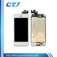 Hot selling stock cheap for iphone 5 lcd with digitizer, accept paypal payment