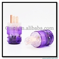Hi-end fiberglass gold plated US Power Plug+IEC female plug