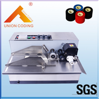Automatic high speed inkjet printer date code machine for plastic bag