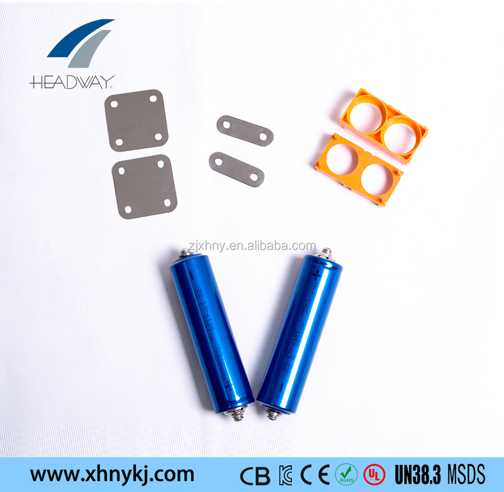 Headway LiFePO4 40152 3.2v 15ah lithium battery cell for motobike,EV,solar system