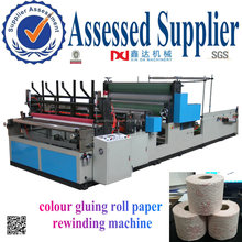 Colour Gluing Roll Paper Lamination Towel Tissue Making Machine
