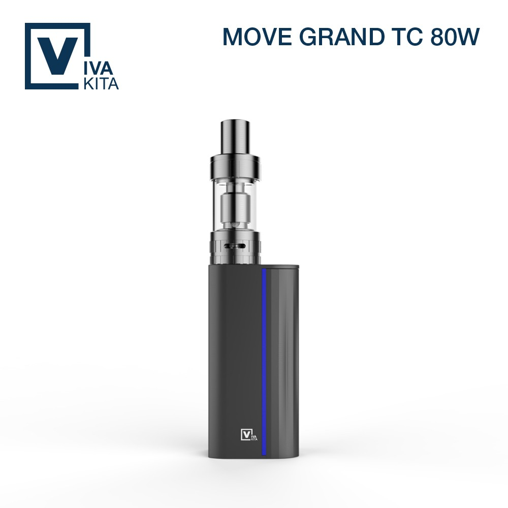 80W temperature control top filling system super vapor box mod electronic cigarette
