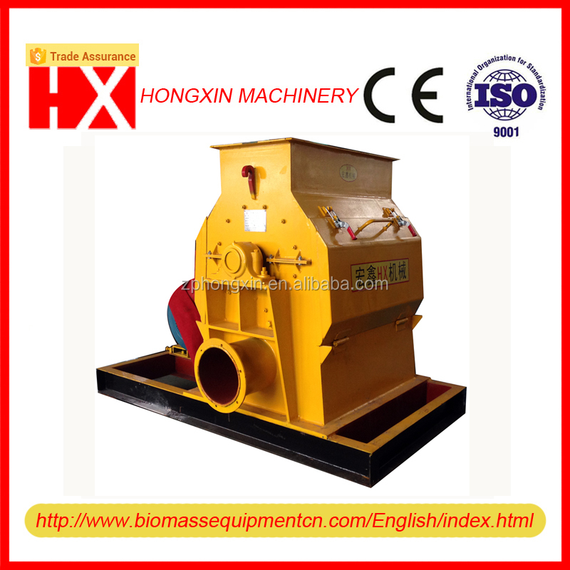 Durable hammer mill with draught fan
