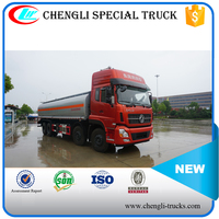 DONGFENG 315hp 8*4 Heavy Duty Used 25000L 25CBM Oil Transport Tanker Truck