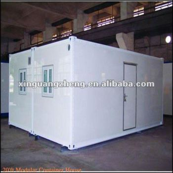 flat packed prefabricated container house