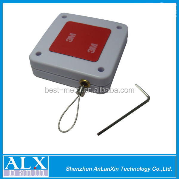 Alibaba 2015 most pop retractable pull box without alarm for cell phone/glasses/watch