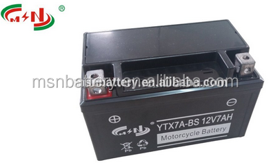 high quality 12v sealed maintenance free motorcycle battery/ rechargeable lead acid battery