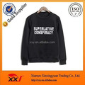 Dye sublimation printing pullover men's sweatshirts wholesale from China
