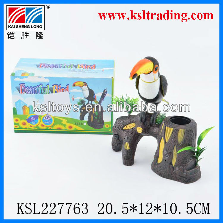 battery operated plastic toy bird for kids