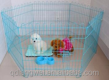 LARGE DOG CAGE CRATE PET PUPPY FOLDING METAL TRANSPORT CAGE