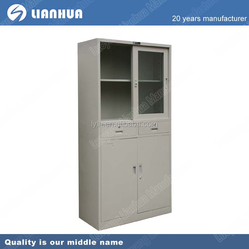 Metal white stainless steel pantry cabinet buy stainless for Stainless steel kitchen cabinet price