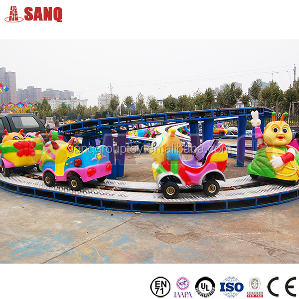 Amusement park electric kiddie mini shuttle, shuttle bus