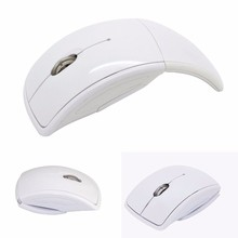 Different Color Optical Foldable ARC Folding Wireless Mouse