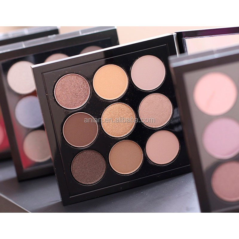 Wholesale Custom High Pigment OEM Private Label Make up Cosmetics Eyeshadow Palette