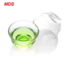 Decorative fancy heat resistant glass bowl for microwave oven