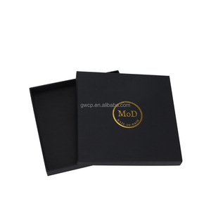 High End Custom Company Logo T-Shirt Package Paper Cardboard Box