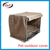 Outdoor pet customized crate cover double dog cage