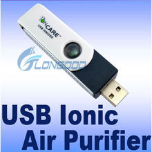 USB Silent Ionic Ionizer Fresh Air Purifier for PC Laptop