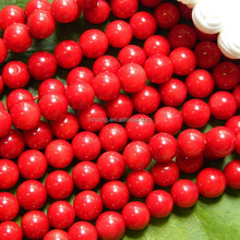 Natural stone 8mm A red coral, Fashion jewelry and loose gemstones, wholesale beads for DIY design making