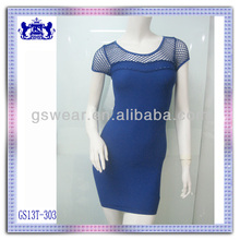 HOT SEXY IMAGE WOMEN CASUAL SEAMLESS SHORT TUBE DRESS