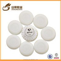 Disposable high quality 5 star wholesale handmade hotel soap with customized logo