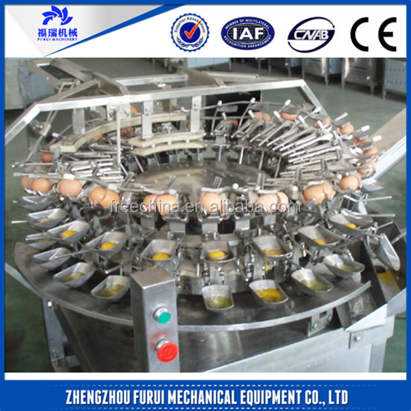 High efficient egg white and yolk separator/automatic egg breaker machine for sale