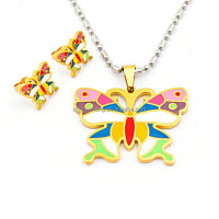 Butterfly Costume Jewelry for Children