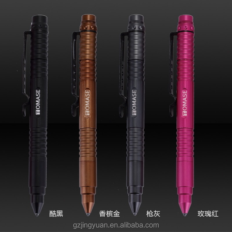 TP2A personal self defense products tactical pen with flashlight