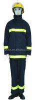 EN340:2003;EN469:2005 Aramid(Nomex) fireman personal safety use fire fighting suit suit