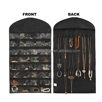 Hanging Jewelry organizer/storage bag