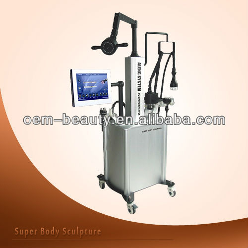 Factory price cavitation Ultrasonic slimming treatment RF skin care <strong>beauty</strong> equipment F017