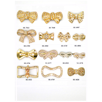 Hot Sale Ornament Glod Metal Bowknot