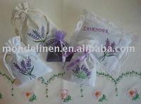 Provence Lavender Linen bag sachet gift bag