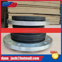 Natural rubber Reducing flexible flange joint Resistance to acid and alkali