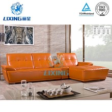 Modern home furniture used leather couch living room sofa
