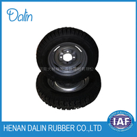 SOLID SPONGE TYRE FOR AGRICULTURAL VEHICLE
